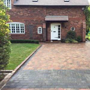 block paving driveways after