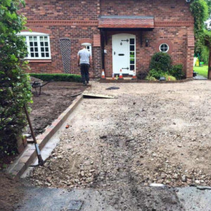 block paving driveways before